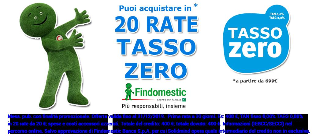 20 rate tasso zero
