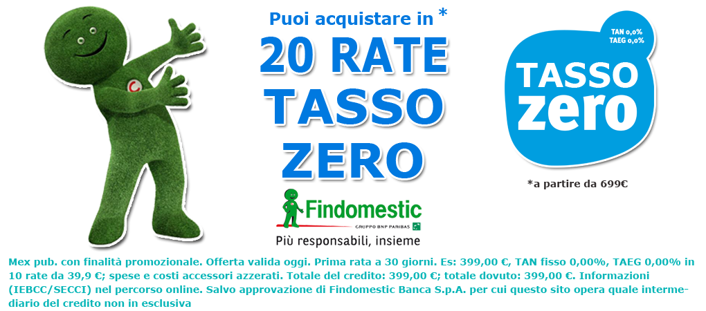 20 rate tasso zero