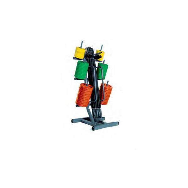 DIAMOND  Rastrelliera porta body pump set - 12 paia  pesistica