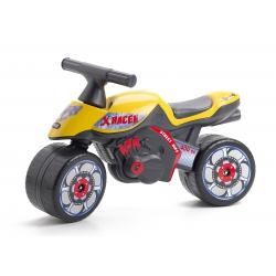 Giochi su ruoteFALKMoto cavalcabile X RACER gialla