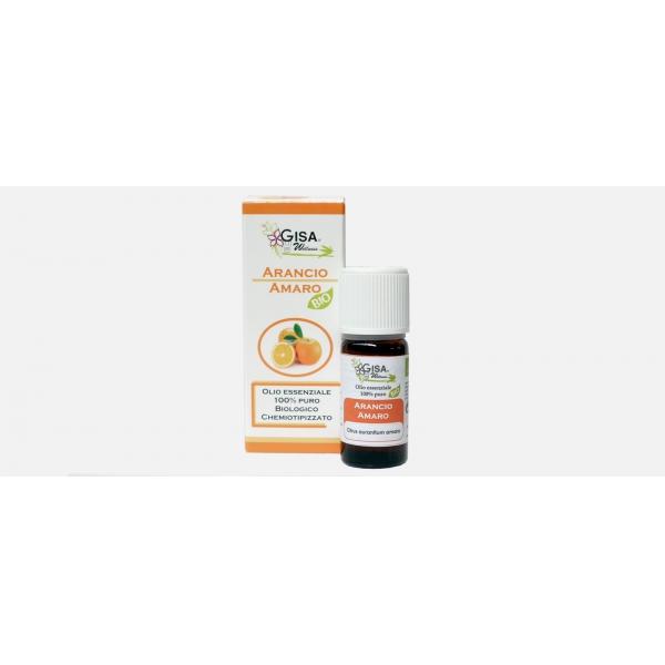 Gisa Wellness Olio Essenziale Arancio Amaro Bio (Citrus Aurantium)