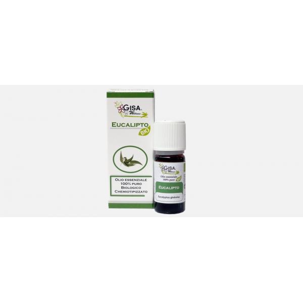 Gisa Wellness Olio Essenziale Eucalipto Bio (Eucalyptus Globulus)