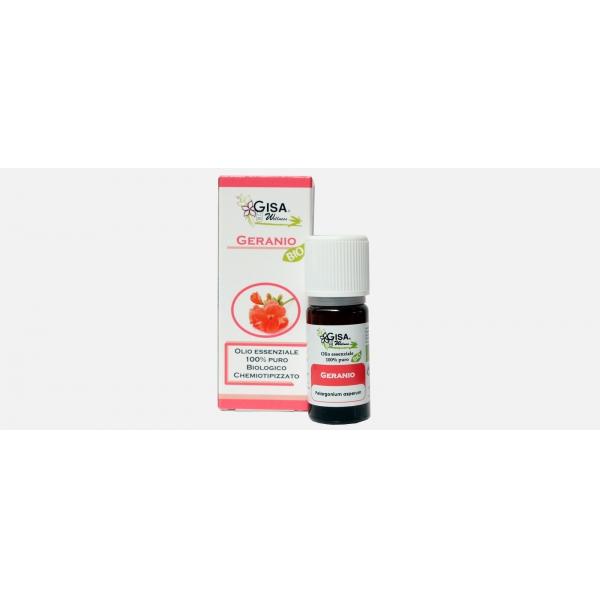 Gisa Wellness Olio Essenziale Geranio Bio (Pelargonium Asperum)