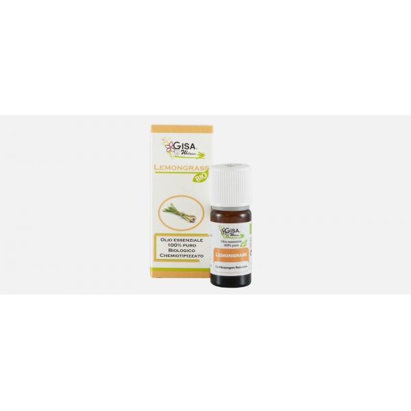 Gisa Wellness Olio Essenziale Lemongrass (Cymbopogon Flexuosus)
