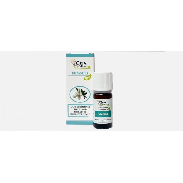 Gisa Wellness Olio Essenziale Niaouli Bio (Melaleuca Quinquenervia)