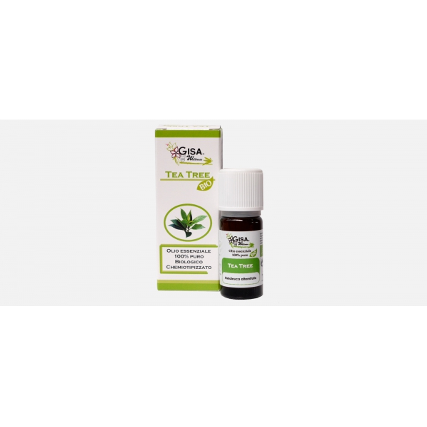 Gisa Wellness Olio Essenziale Tea Tree Bio (Melaleuca Alternifolia)