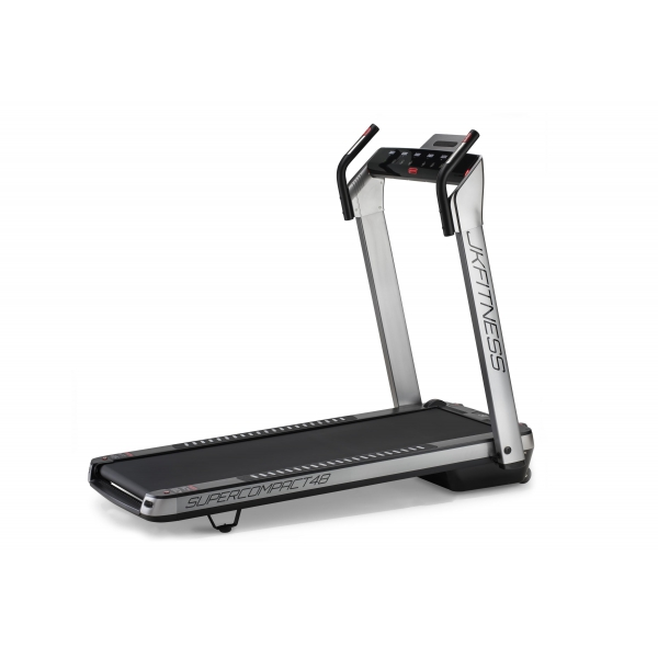 JK FITNESS  Supercompact 48 - argento  Tapis roulant
