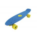 Freedom azzurro con ruote gialle