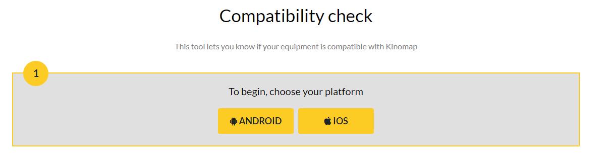 Kinomap Android e IOS