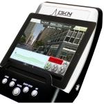 Console con tablet (non incluso)