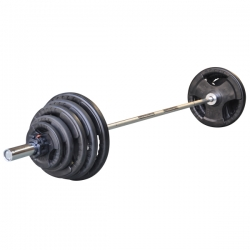 Pesistica DKN Olympic Barbell set 130 Kg