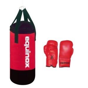EQUINOX  Set boxe junior BOE-001  Sacchi Boxe