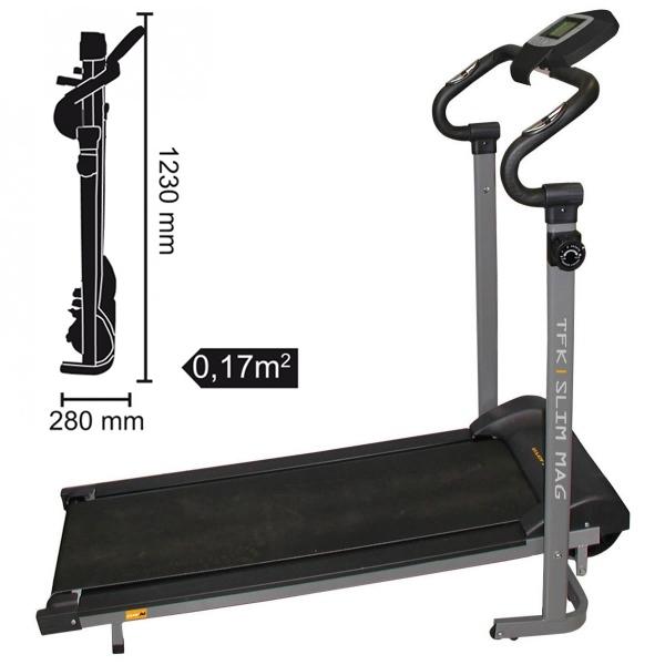 EVERFIT  TFK-Slim Mag  Tapis roulant Magnetici  (invio gratuito)