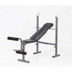 Panche ginnicheEVERFITWBK-500 con porta bilanciere e leg extension