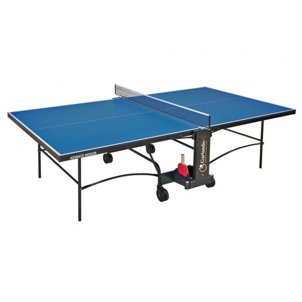 GARLANDO  Advance Indoor Blu con ruote  Tavolo da ping pong  (invio gratuito)