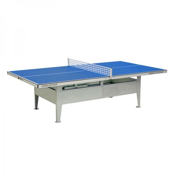 Tavolo Da Ping Pong Garlando Garden Outdoor Blu