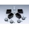 Serie 4 piedini regolabili per Foldy, G-2000 e G-2000 Weatherproof