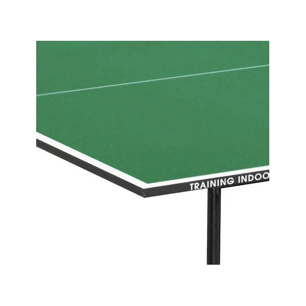 Tavolo da ping pong garlando training indoor verde con ruote - Tavoli da ping pong usati ...