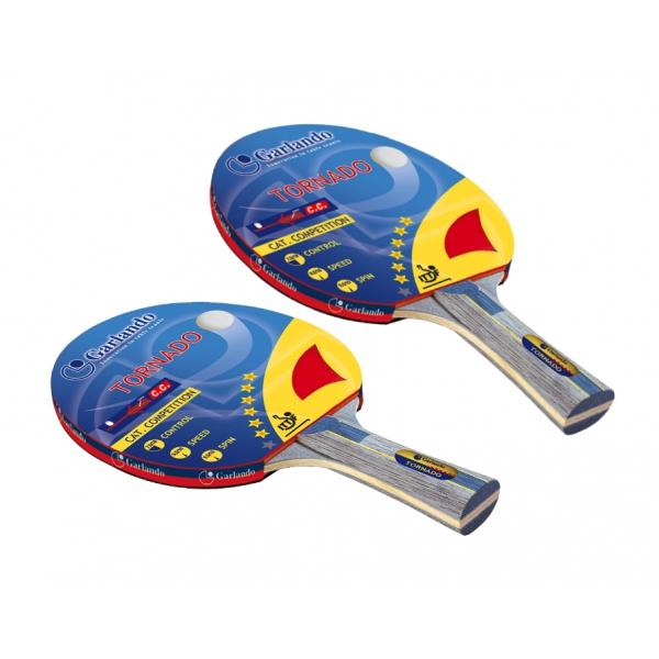GARLANDO  Coppia Racchette Tornado   Accessori Ping Pong