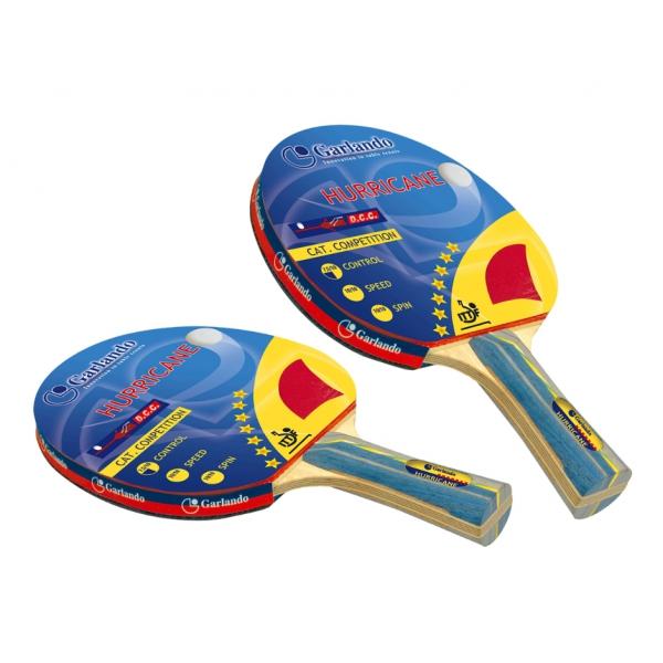 GARLANDO  Coppia Racchette Hurricane  Accessori Ping Pong
