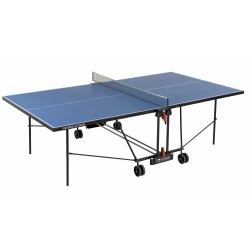 Tavoli da ping pong GARLANDO Progress Outdoor Blu con ruote