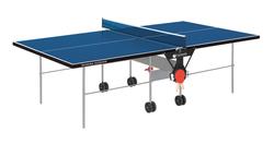 Tavoli da ping pongGARLANDOTraining Outdoor Blu con ruote