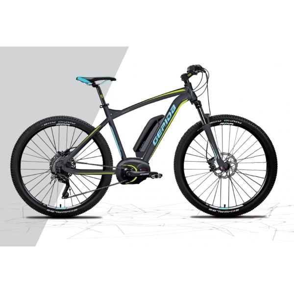Gepida Bicicletta Elettrica Sirmium 1000 Mtb, Ruote 27,5 Modello 2017