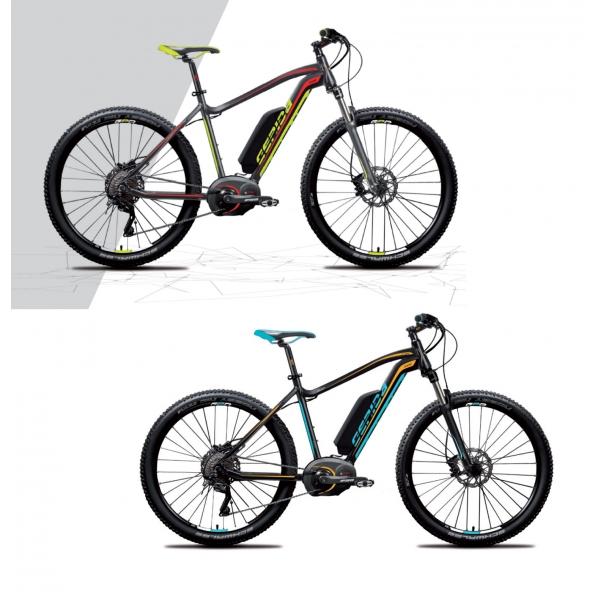 Gepida Bicicletta Elettrica Ruga Mtb, Ruote 27,5 Modello 2017