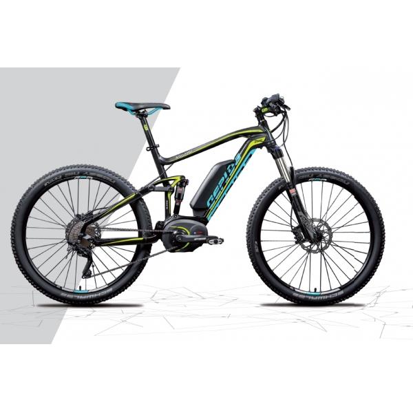Gepida Bicicletta Elettrica Asgard Full Race Mtb, Ruote 27,5 Modello
