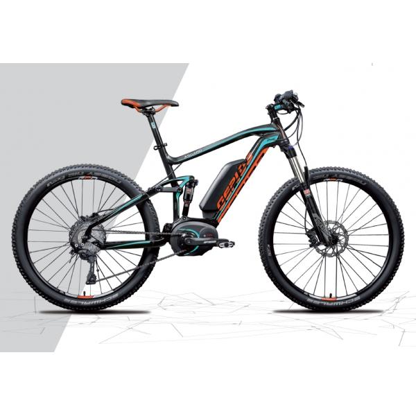 Gepida Bicicletta Elettrica Asgard Full Pro Mtb, Ruote 27,5 Modello 2
