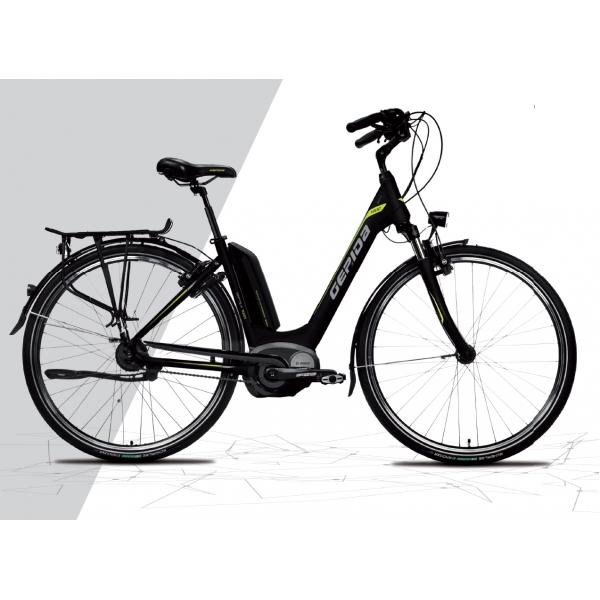 Gepida Bicicletta Elettrica Reptila 1000 City, Ruote 28 Modello 2017