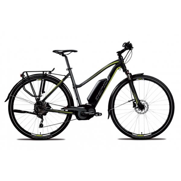 GEPIDA  ALBOIN DONNA trekking, ruote 28 modello 2017  Biciclette Elettriche