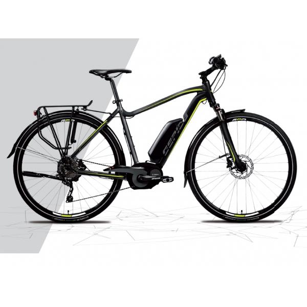 Gepida Bicicletta Elettrica Alboin Uomo Trekking Ruote 28 Modello 2017