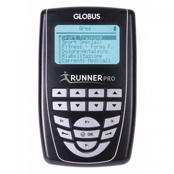 Elettrostimolatore Globus Runner Pro + 1 Gel E 8 Elettrodi In Omaggio