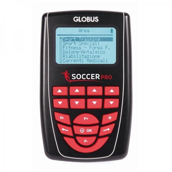 Globus Soccer Pro Elettrostimolatore + 1 Gel E 8 Elettrodi In Omaggio