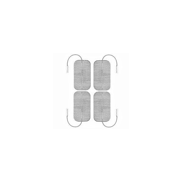 GLOBUS  4 Elettrodi Myotrode Platinum 50x90 mm a cavetto  Elettrodi