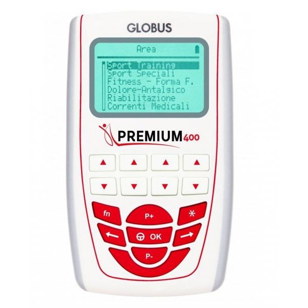 GLOBUS  Premium 400 + omaggi  Elettrostimolatori  (invio gratuito)