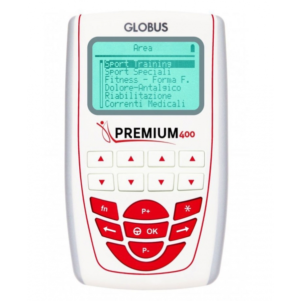 GLOBUS  Premium 400 IN PROMOZIONE  Elettrostimolatori  (invio gratuito)