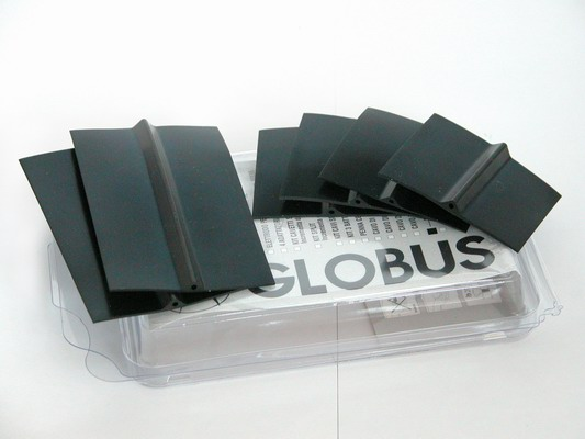 GLOBUS  6 elettrodi in silicone conduttivo  Elettrodi