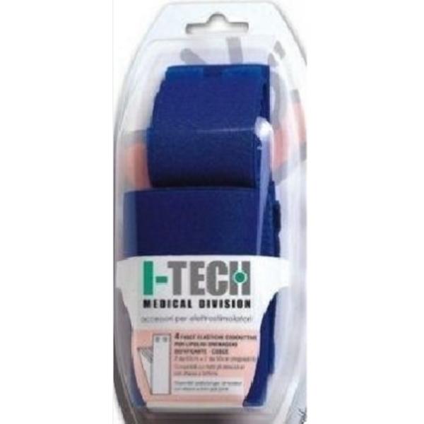 I-TECH  Kit 4 Fasce Conduttive per polpacci  Accessori Elettrostimolatori