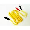 Cavo a spinotto giallo per T-One