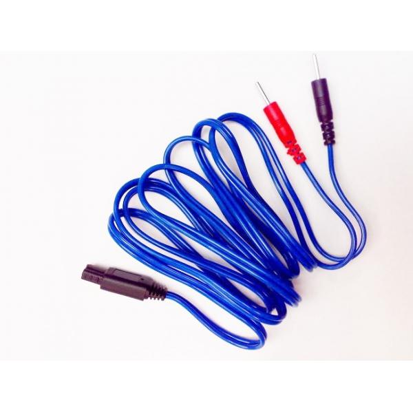 I-TECH  Cavo a spinotto blu per T-One  Ricambi elettrostimolatori