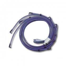 Accessori PressoterapiaI-TECHConnettore a 4 tubi con 8 terminazioni per gambali e bracciali