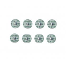ElettrodiI-TECH8 Elettrodi 32mm attacco a bottone per viso