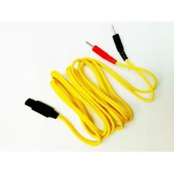 Ricambi elettrostimolatoriI-TECHCavo a spinotto giallo per T-One