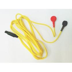 Ricambi elettrostimolatoriI-TECHCavo attacco a bottone giallo per T-One