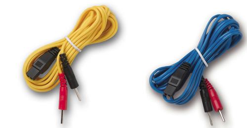 I-TECH  Coppia cavi attacco a spinotto per Mio-Care  Ricambi elettrostimolatori