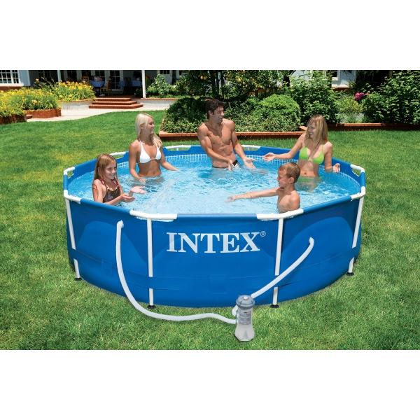intex  Frame 305x76 cm con pompa filtro  Piscine fuori terra