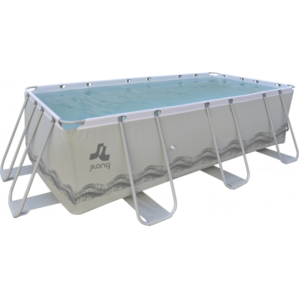 JILONG  PASSAAT GREY 400x207x122 cm  Piscine fuori terra