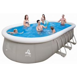 Piscine fuori terra JILONG Chinook Grey 610